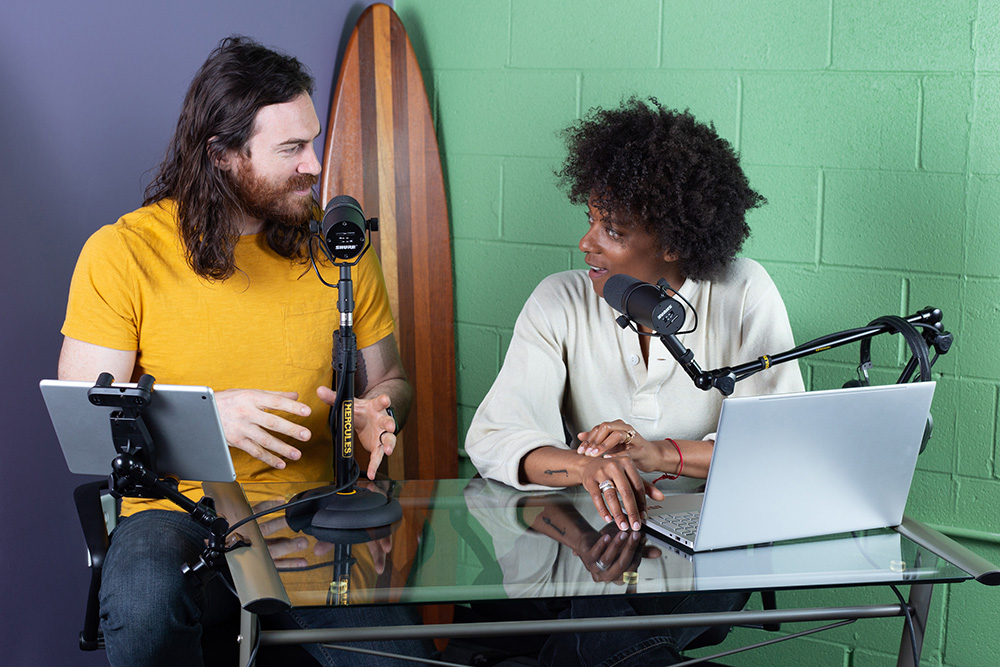 Two Podcasters