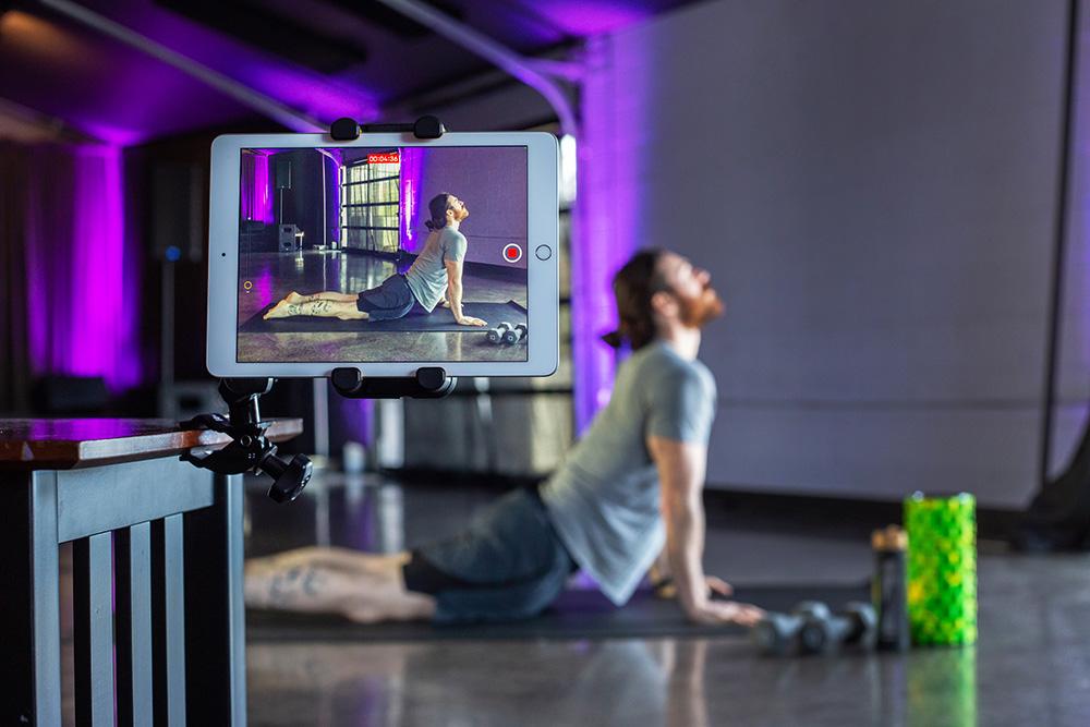 Yoga Instructor Recording Clas
