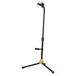 AUTO GRIP SYSTEM (AGS) SINGLE GUITAR STAND W/BACKREST