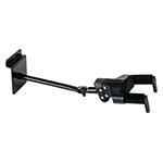 AUTO GRIP SYSTEM (AGS) GUITAR HANGER, SLAT WALL MOUNT, LONG ARM