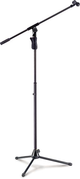 EZ GRIP TRIPOD MICROPHONE STAND W/BOOM & MIC CLIP