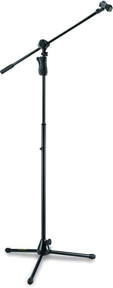 EZ GRIP TRIPOD MICROPHONE STAND W/2 IN 1 BOOM & MIC CLIP