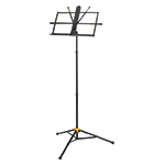 3-SECTION  MUSIC STAND W/BAG, W/EZ GRIP