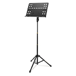 ORCHESTRA STAND PERFORATED DESK, TRIPOD