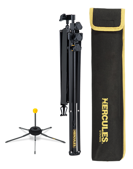 NEW FOLDING MUSIC STAND BUNDLE PACKS W/TRUMPET STAND