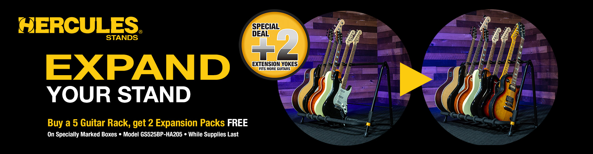 Guitar Rack Expansion Promo