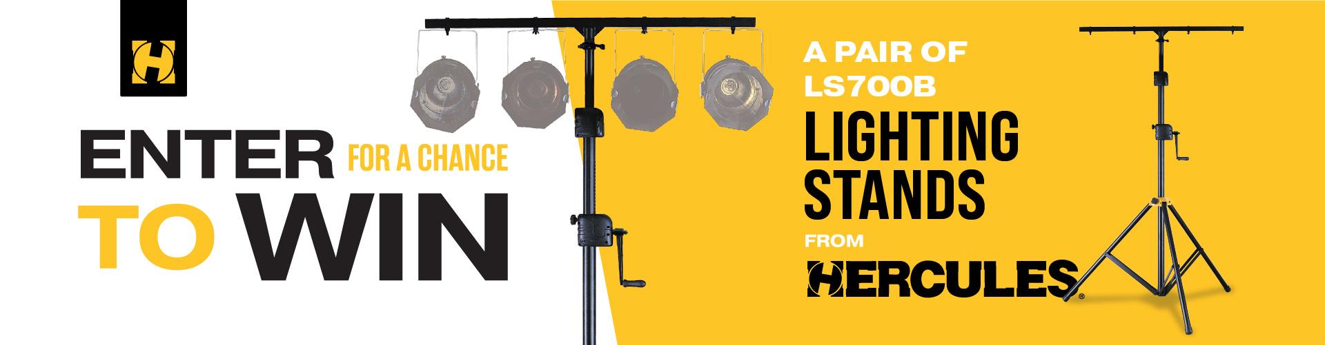 Lighting Stand Sweepstakes