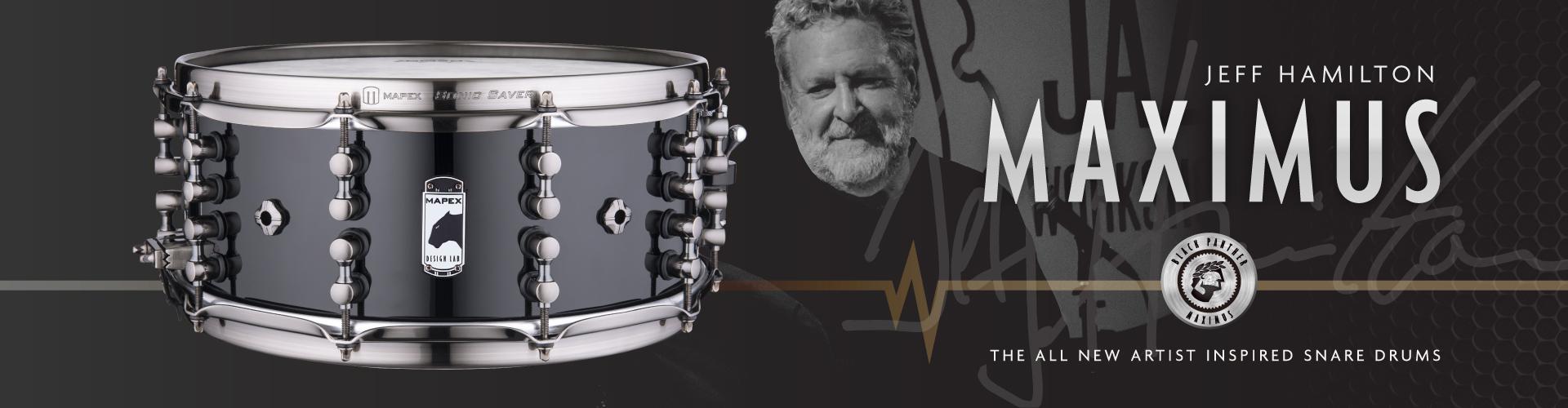 Maximus - Jeff Hamilton Artist Snare
