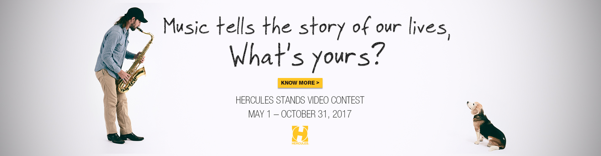 Hercules Stands Video Contest