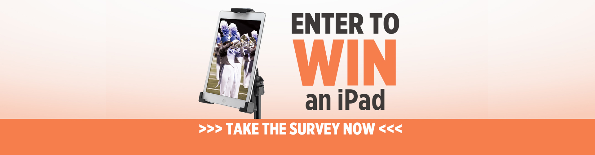 Take the Survey & be entered to win an iPad