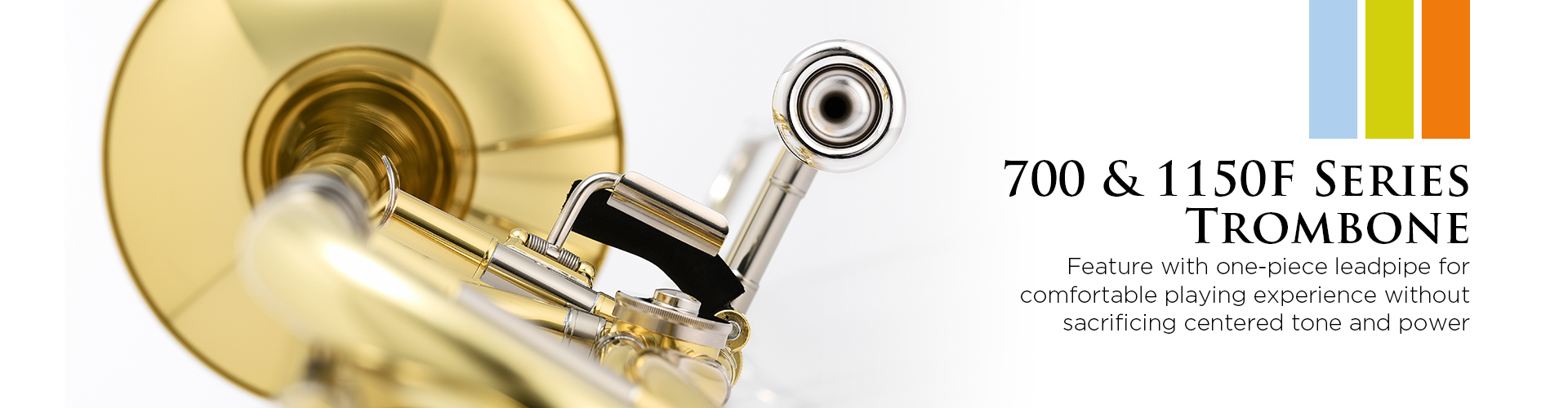 One-piece Leadpipe Trombone slide