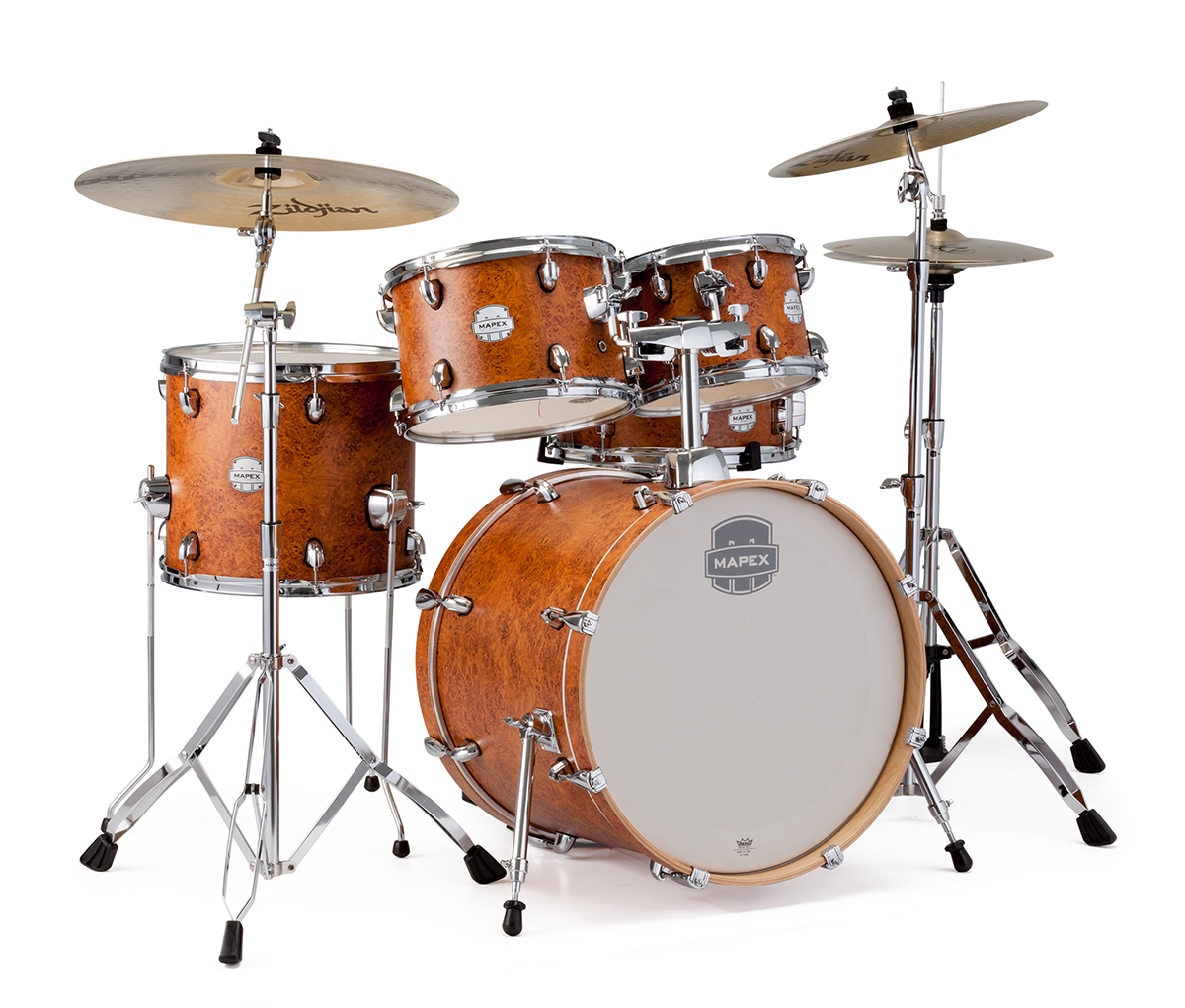 mapex drums mapex adds a new edge with their new storm series drum kits with hardware. Black Bedroom Furniture Sets. Home Design Ideas