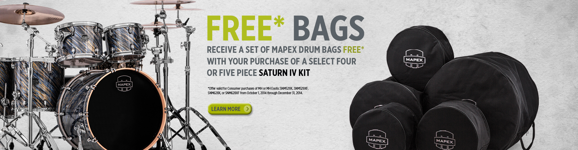 Saturn IV Free Bags Promotion