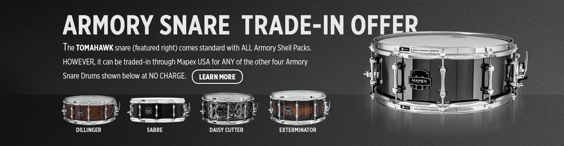 Armory Snare Trade In Offer