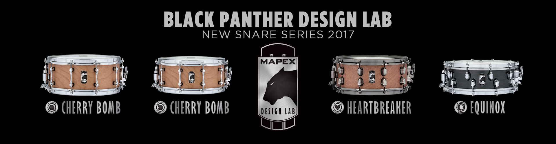 Black Panther Design Lab Snares