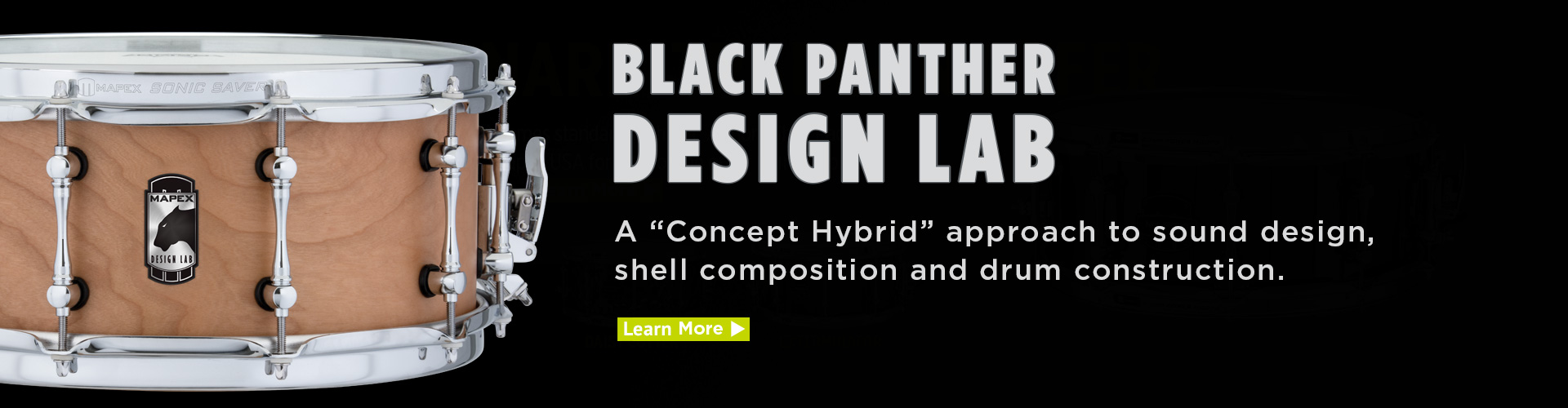 Black Panther Design Lab Snare Drums